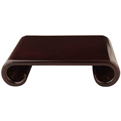 Oriental Furniture Rosewood Scroll Stand - Extra Large