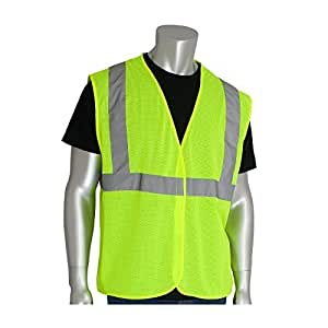 PIP 302-MVGLY-XL ANSI Class 2 Value Mesh Vest by Protective Industrial Products