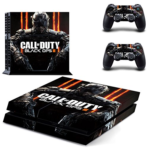 DICOOL Black ops 3 Vinyl Skin Decal Sticker Cover Set for Sony PS4 Skin Set ()