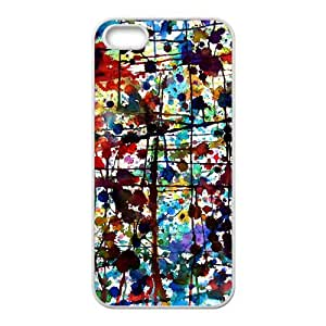 Colorful graffiti Phone Case for iPhone 5S(TPU)