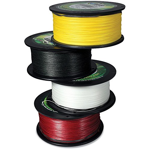 Power Pro 21100501500Y Yellow 1500 yds x 50 lb Test Microlin