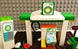 Best custom broom - Lego CUSTOM BP GAS SERVICE Station. broom / Review