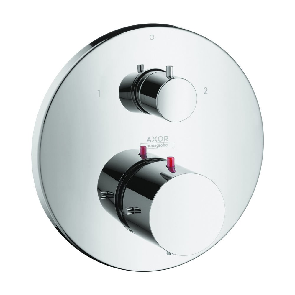 AXOR 10720001 Starck Thermostatic Trim with Volume Control and Diverter, Chrome by AXOR