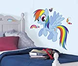My Little Pony - Rainbow Dash Peel and Stick Giant Wall Decal 26 x 30in