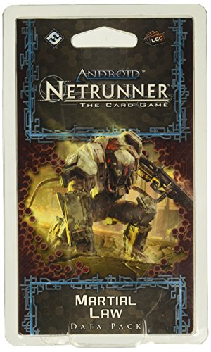 Android: Netrunner LCG- Martial Law Data Pack