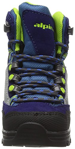 ALPINA SANDY unisex-bambino TREK King stivali, escursioni stivali, Berg scarpe, colore blu, taglia 32 (1)