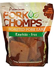 Scott Pet Products VP1902 Pork Chomps Premium 10-Count Pork Earz for Dogs