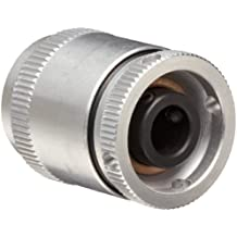 """Huco 279.25.28.Z Size 25 Varitork Miniature Friction Clutch, 6-Plate, Aluminum Body, Inch, 0.315"""" Bore A, 0.315"""" Bore B, 1"""" OD, 1.28"""" Length, 1168.2 in-lbs Max Torque"""