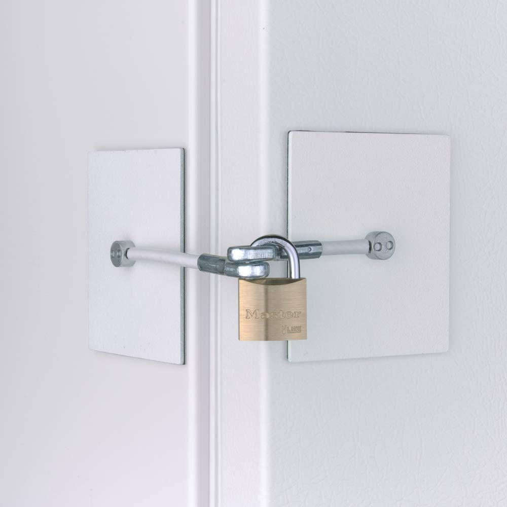 Chest Freezer Lock - White