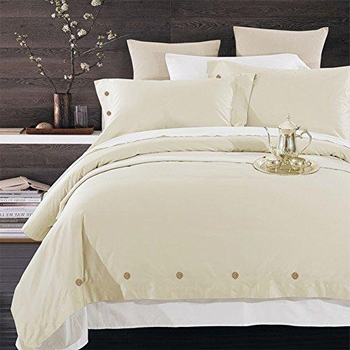 (NANKO Duvet Cover King, 3 Piece Set - Luxury Microfiber Comforter Quilt Bedding Covers and Pillow Cases - Best for Men Women Bed Decor)