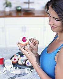 Ultimate Cupcake Baking & Cake Decorating Supplies Bundle Bakeware Kit - Nonstick Cupcake Pan, Offset Angled Spatula, Icing Injector w/ 8 Tips & Cupcake Corer - Bonus 150 Cupcake Cups