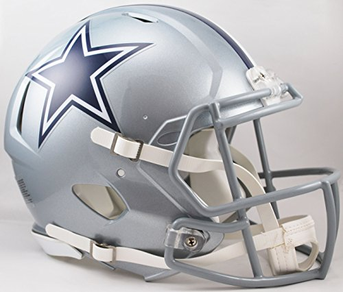 Riddell Revolution Helmets - Riddell Dallas Cowboys NFL Authentic Speed Revolution Full Size Helmet from