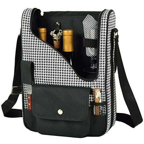 (Picnic at Ascot Original Insulated Wine and Cheese Cooler Bag - Designed, Assembled & Quality Approved in the USA )
