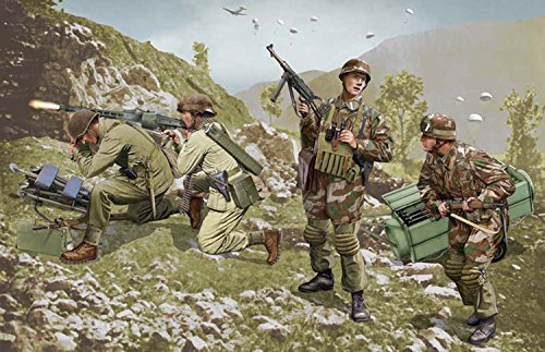1/35 German Special Forces Brandenburg Force (Leros 1943)