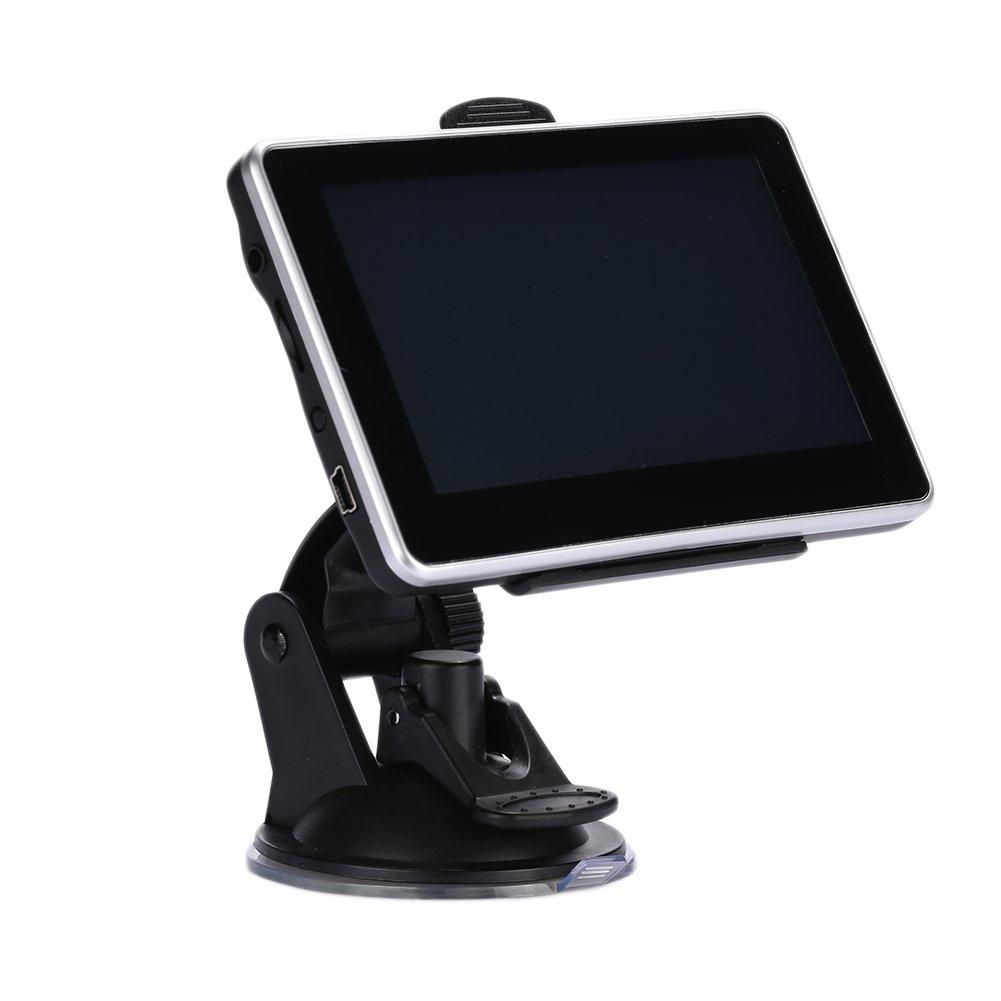 Sedeta GPS Navigateur de Navigation GPS de Voiture de 4, 3 Pouces GPS Construit en Europe Carte Le conducteur GPS de Voiture de Camion de Navigation