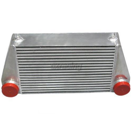 (Universal V-Mount Turbo Intercooler Size: 24x12x4)