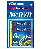 Verbatim - 3 x DVD+RW (8cm) - 1.4 GB 1x - 4x