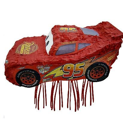 Ya Otta Pinata Cars - Lightning Mcqueen Red Party Pull Pi...