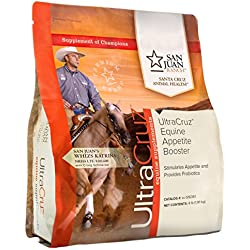 UltraCruz Equine Appetite Booster Supplement for Horses, 4 lb, Pellet (32 Day Supply)