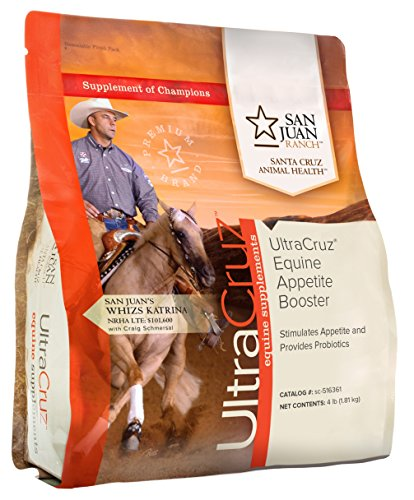 UltraCruz Equine Appetite Booster Supplement for Horses, 4 lb. by UltraCruz