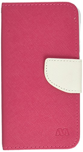 e 510) MyJacket Wallet with Card Slot - Retail Packaging - Pink/White ()