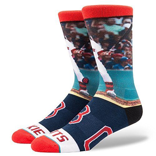 Stance Men's Mookie Betts Socks Red L