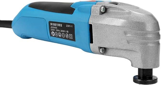 KKmoon 280W 220V M/áquina de cortar oscilante herramienta el/éctrica cortadora el/éctrica de corte de corte de corte de herramienta de corte de madera