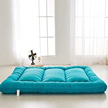 Blue Futon Tatami Mat Japanese Futon Mattress Cheap Futons For Sale Christmas Gift Idea Gift For Women Men Gift For Mom Dad, Twin Size