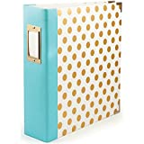 We R Memory Keepers Teresa Collins 3-Ring Album, 8.5 by 11-Inch, Dot