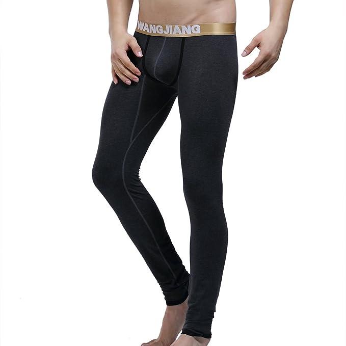 Wang Jiang WJ - Pantalón térmico - para Hombre Grau Gold Small