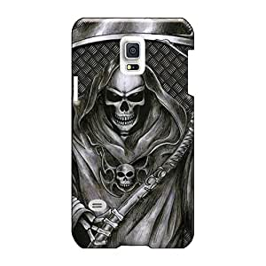 Samsung Galaxy S5 Mini Qmd22563nIbh Unique Design High Resolution Grim Reaper Pattern Protector Hard Phone Case -AshtonWells