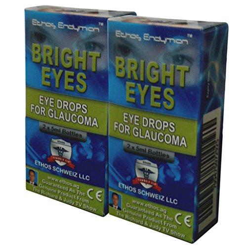(Carnosine Eye Drops 2-Pack (4 x 5ml Bottles) - Ethos Bright Eyes™ NAC Eye Drops (Safe for Glaucoma Sufferers) - NAC n acetyl carnosine eye drops)