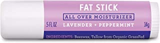 product image for FATCO Fat Stick and All Purpose Moisturizing Stick for Dry Areas on Your Face, Lips, and Body - Lavender + Peppermint (0.5 oz)