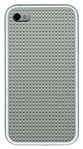 iphone 6 plus 5.5 Case Gray LEGO Dots Pattern301 TPU Custom iphone 6 plus 5.5 Case Cover White