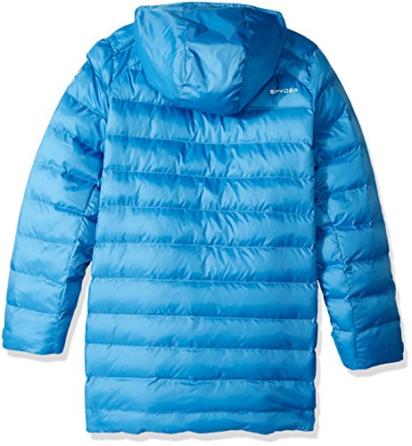 Down Girl's Jacket French Blue Glam Spyder waqWgESw