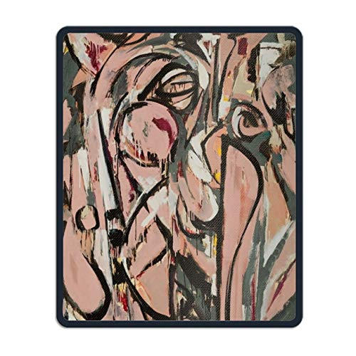 Abstract Painting Printed Mouse Pad Non Slip Mouse Mat 8.7 × 7