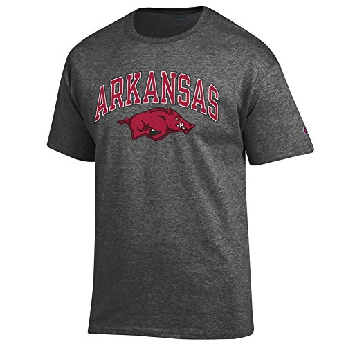 Arkansas Razorbacks TShirt Varsity Charcoal - L