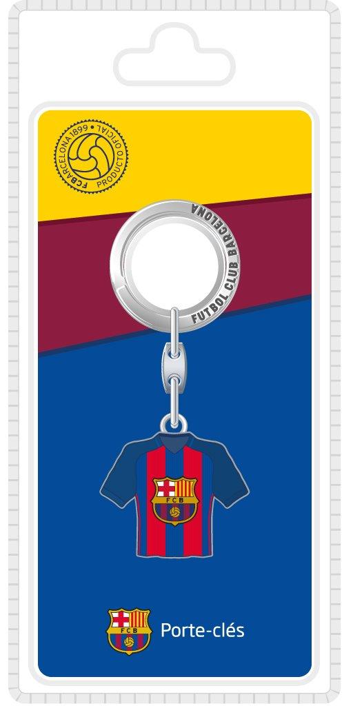 FC Barcelone The Fountain Gold Shirts Home 16/1718x 8.5x 2.5cm Multi-Coloured Metal Key Ring LAPLT|#La Plume Dorée 163FCB601DOM-LB