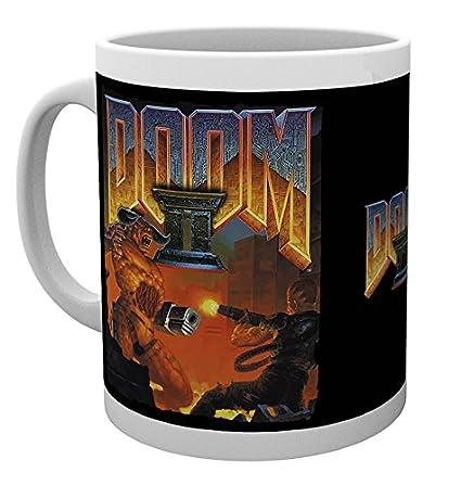 GB Eye LTD, Doom, Doom 2 Game Cover, Taza: Amazon.es: Hogar