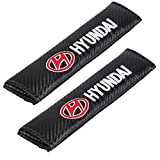 Auto Seat Belt Cover Shoulder Pad Cushion (2 Pcs) fits All Type of car and car Seats Seat Belt Pads (Hyundai)