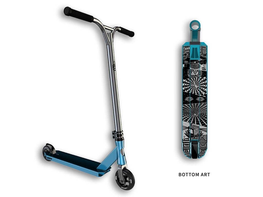 Lucky PROSPECT Complete Pro Stunt Scooter, Teal by Lucky Scooter
