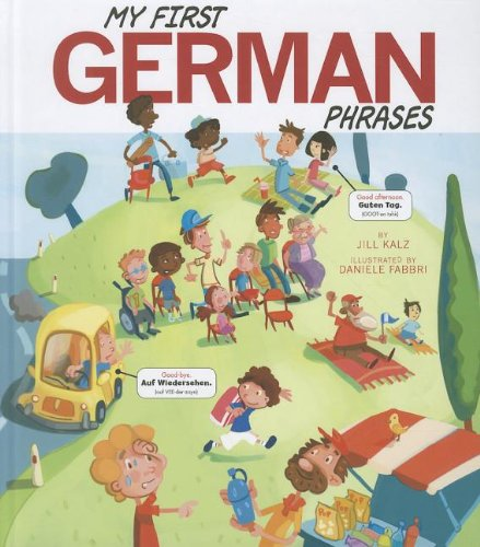 My First German Phrases (Speak Another Language!)