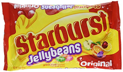 (Starburst Jellybean Originals, 14 Ounce (Pack of 4)