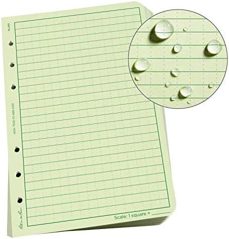 Rite in the Rain Weatherproof Loose Leaf Paper, 4 5/8