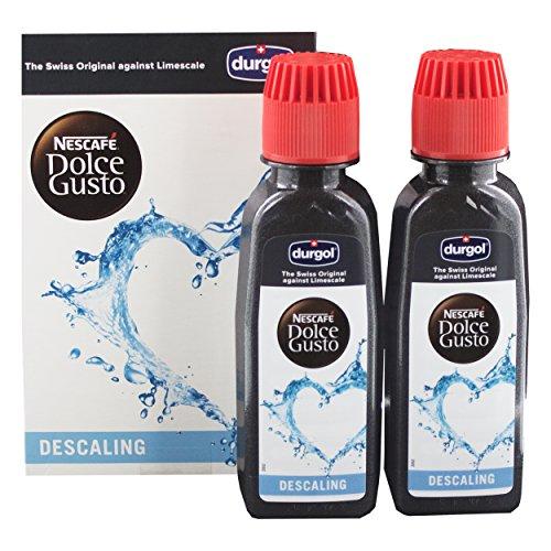 Dolce Gusto Durgol Espresso Flüssiger Spezial-Entkalker, 1 Packung, 2 x 125ml