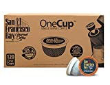San Francisco Bay OneCup Espresso Roast (120 Count) Single Serve Coffee Compatible with Keurig K-cup Brewers Single Serve Coffee Pods, Compatible with Keurig, Cuisinart, Bunn Single Serve Brewers