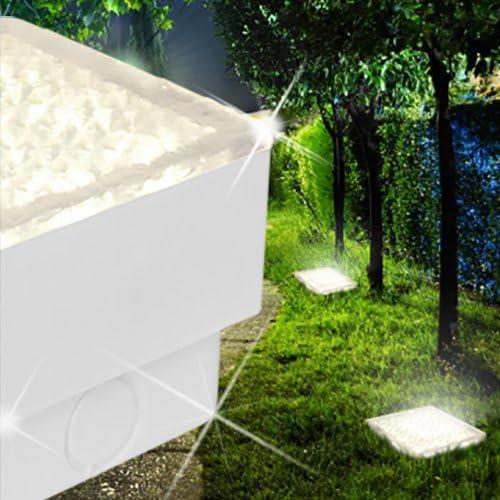 Adoquín empotrables para suelo exterior 2321026100/LED/blanco/aluminio/lámpara foco: Amazon.es: Jardín