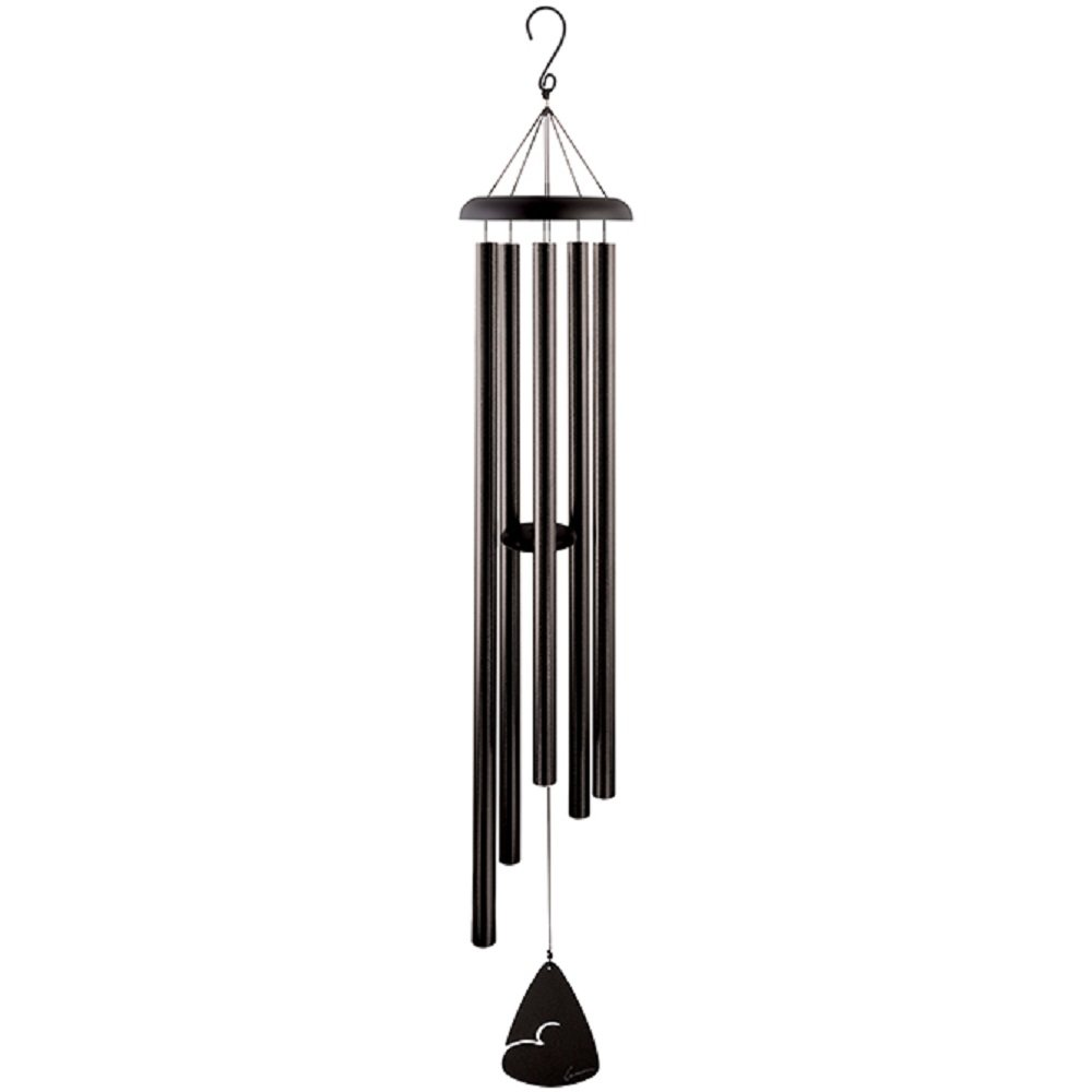Carson Home Accents Signature Series Wind Chime, 60'', Black