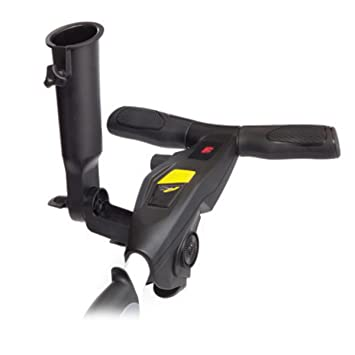 Powakaddy Universal Umbrella Holder - Fits Most Powakaddy Trolleys - Black