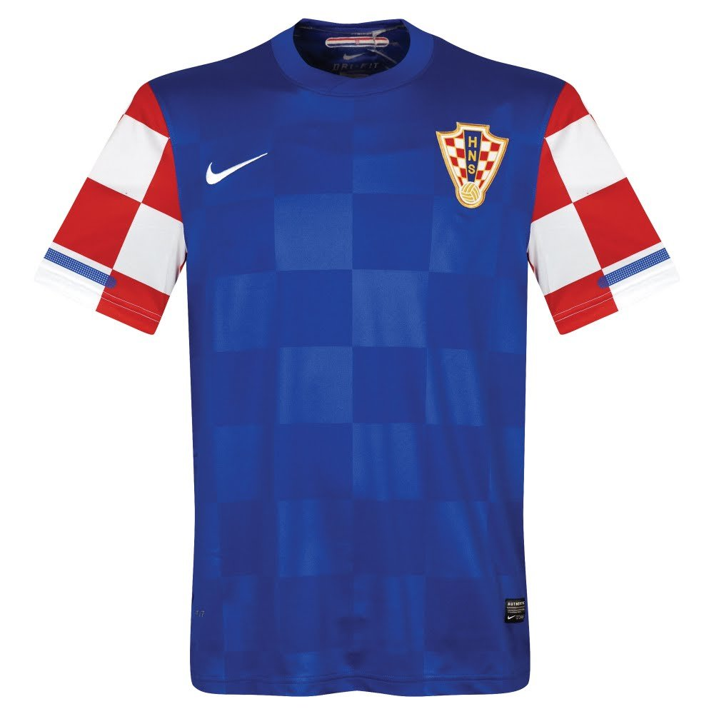 Nike 10 – 12クロアチアAway Authentic player-issue Jersey